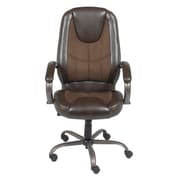 Z-Line (ZL3001-01MCU) Manager Chair, Brown