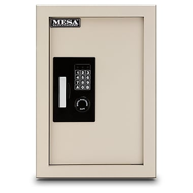Mesa 0.3 - 0.7 cu. ft Electronic Keypad Wall Safe (MAWS2113E)