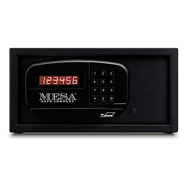 Mesa ? Coffre-fort d?hôtel/résidentiel à clavier électronique, 0,4 pi3, noir (MH101E-BLK)