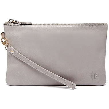 HButler MightyPURSE Wristlet Portable Battery Charger, Lizard Grey (HB-MP354)