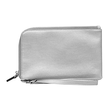 HButler Spark Wristlet with Portable Battery Charger, Silver (HB-SP502)