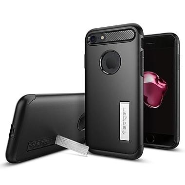 Spigen Slim Armor Cell Phone Case for iPhone 7, Black (SGP042CS20647)