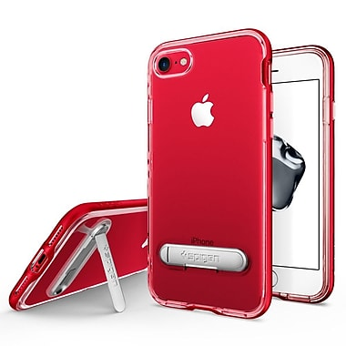 Spigen Crystal Hybrid Cell Phone Case for iPhone 7, Dante Red (SGP042CS21520)