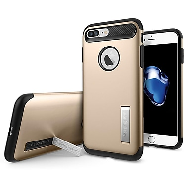 Spigen Slim Armor Cell Phone Case for iPhone 7 Plus, Champagne Gold (SGP043CS20310)