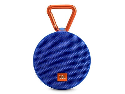 JBL Clip 2 Portable Bluetooth Speaker, Blue (JBLCLIP2BLUAM)