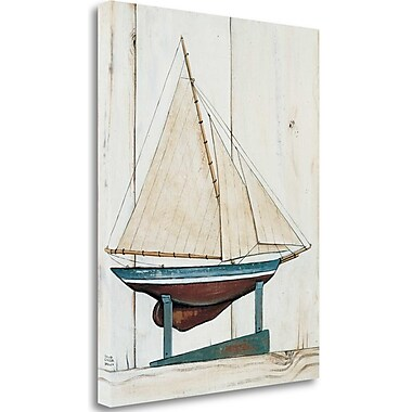 Tangletown Fine Art 'Racer I' Print on Wrapped Canvas; 28'' H x 22'' W