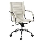 Varick Gallery Figueroa Desk Chair; Cream