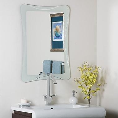 Varick Gallery Logan Frameless Terassa Wall Mirror
