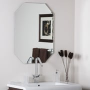 Varick Gallery Logan Frameless Olivia Wall Mirror