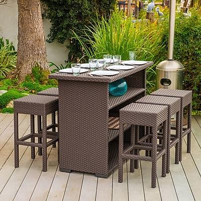 Varick Gallery Silverton 7 Piece Outdoor Dining Set