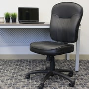 Varick Gallery Passyunk High-Back Leather Desk Chair; Not Included