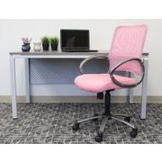 Varick Gallery Tenafly Mesh Desk Chair; Pink