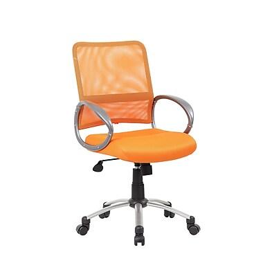 Varick Gallery Tenafly Mesh Desk Chair; Orange