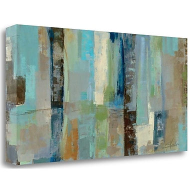 Tangletown Fine Art 'Skylights' Print on Wrapped Canvas; 20'' H x 39'' W