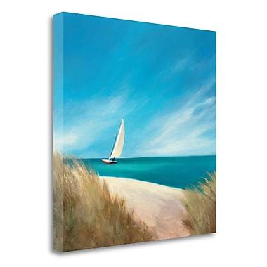 Tangletown Fine Art 'Sunday Sail' Print on Canvas; 25'' H x 25'' W