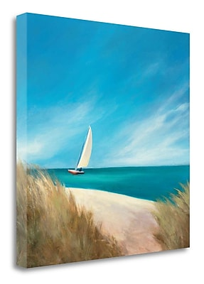 Tangletown Fine Art 'Sunday Sail' Print on Canvas; 20'' H x 20'' W
