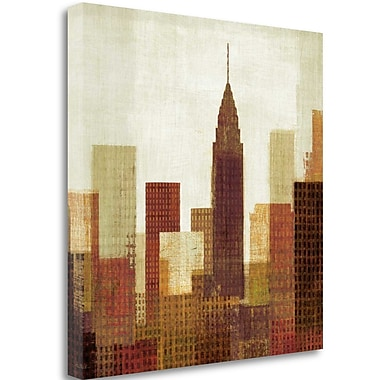 Tangletown Fine Art 'Summer in the City III' Print on Canvas; 25'' H x 25'' W