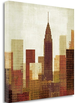 Tangletown Fine Art 'Summer in the City III' Print on Canvas; 30'' H x 30'' W
