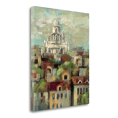 Tangletown Fine Art 'Spring in Paris I' Print on Canvas; 40'' H x 32'' W