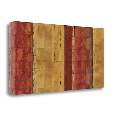 Tangletown Fine Art 'La Dolce Vita I' Graphic Art Print on Wrapped Canvas; 15'' H x 29'' W