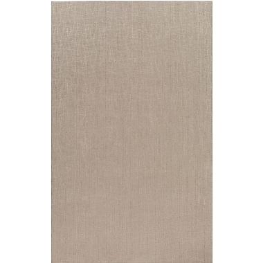 Varick Gallery Upper Strode Gray Indoor/Outdoor Area Rug; Square 4'