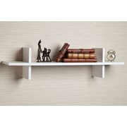 Varick Gallery Decorative ''H'' Shaped Floating shelf; White