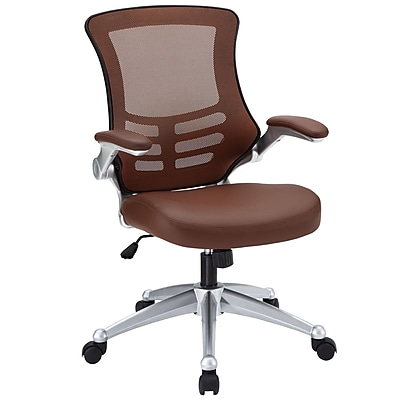 Varick Gallery Orrstown High-Back Mesh Desk Chair; Tan