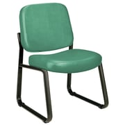 Varick Gallery Payakumbuh Armless Guest / Reception Chair; Teal