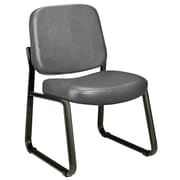 Varick Gallery Payakumbuh Armless Guest / Reception Chair; Charcoal