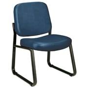 Varick Gallery Payakumbuh Armless Guest / Reception Chair; Navy