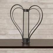 Varick Gallery Cylinder Sweetheart Flower Bud Table Vase