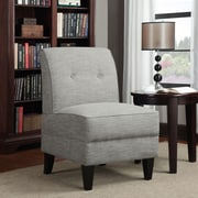 Varick Gallery Klein Slipper Chair; Barley Tan Linen