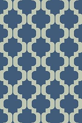 Varick Gallery West Harptree Blue Area Rug; 2' x 3'