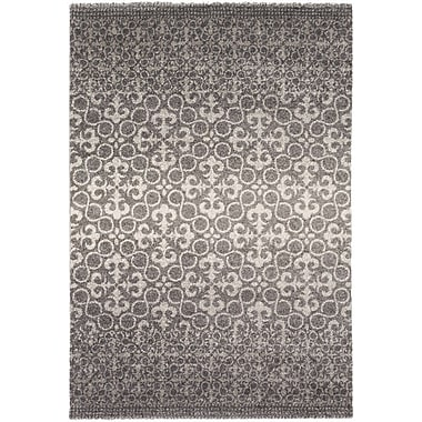 Varick Gallery West Village Gray Area Rug; 2' x 3'6''