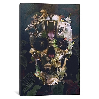 Varick Gallery Kingdom by Ali Gulec Graphic Art on Wrapped Canvas; 18'' H x 12'' W x 0.75'' D