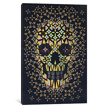 Varick Gallery Skull #6 Graphic Art on Wrapped Canvas; 26'' H x 18'' W x 0.75'' D