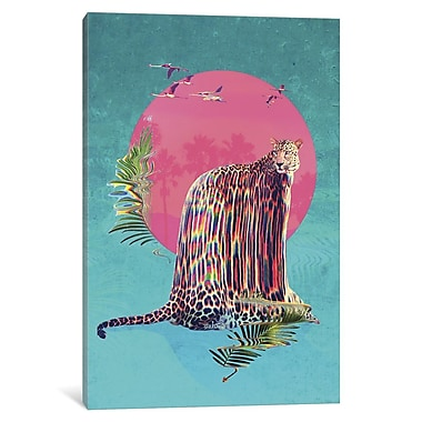 Varick Gallery Jaguar by Ali Gulec Graphic Art on Wrapped Canvas; 40'' H x 26'' W x 0.75'' D