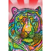 Varick Gallery Tiger Graphic Art on Wrapped Canvas; 40'' H x 26'' W x 1.5'' D
