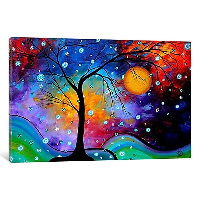 Varick Gallery Winter Sparkle by Megan Duncanson Graphic Art on Wrapped Canvas