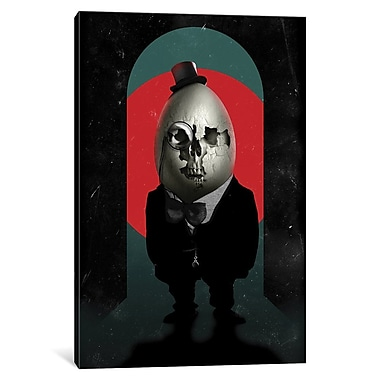 Varick Gallery Humpty Dumpty by Ali Gulec Graphic Art on Wrapped Canvas; 40'' H x 26'' W x 0.75'' D