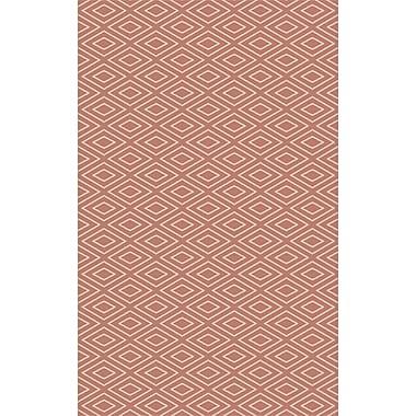 Varick Gallery Arcuri Hand-Woven Beige/Mocha Area Rug; 9' x 13'