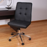 Varick Gallery Mid-Back Desk Chair; Black