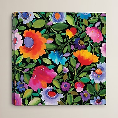 Varick Gallery 'India Garden' by Kim Parker Print Painting on Wrapped Canvas