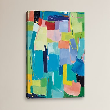 Varick Gallery Urban Essay XIV by Kim Parker Print Painting on Wrapped Canvas