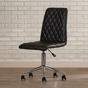 Varick Gallery Montopolis Desk Chair; Black