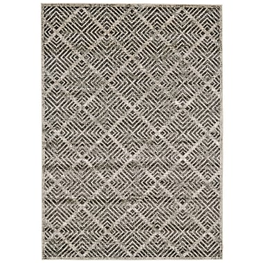 Varick Gallery Beech Hill Castle/Taupe Area Rug; 10' x 13'2''
