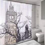Varick Gallery Causeway Big Ben Shower Curtain
