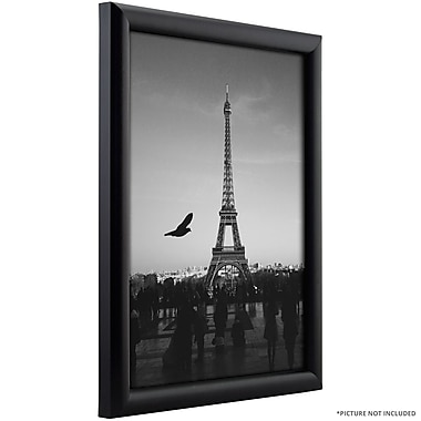 Varick Gallery Wide Smooth Picture Frame; 4'' x 6''