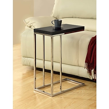 Varick Gallery Myrtlewood End Table; Cappuccino