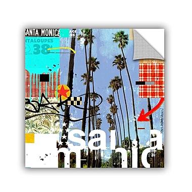 Varick Gallery Santa Monic Signs Graphic Art; 24'' H x 24'' W x 0.1'' D